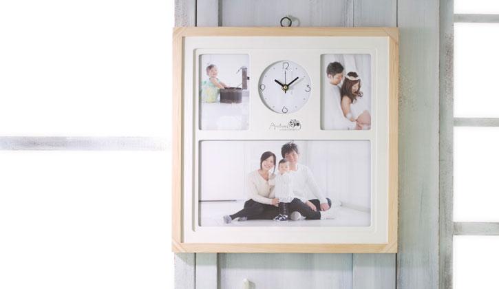 ウッド時計